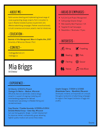 a resume layout infographic resume template venngage