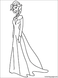 Small Picture Princess Elsa coloring page Coloring pages
