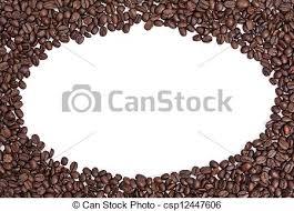 coffee beans border. Simple Beans Coffee Bean Border  Csp12447606 For Beans E