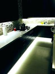 led lighting kitchen under cabinet strip lights cabinets battery best le