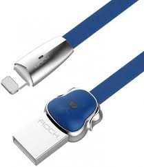 <b>USB</b> кабель <b>ROCK</b> Dog Lightning 1M (blue) - Just i — техника ...