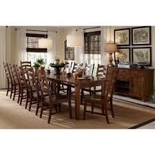 furniture kitchen dining room sets auden distressed solid wood 14 piece dining collection