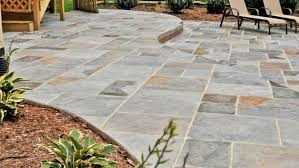 a stamped concrete patio poured natural looking74 patio