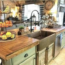 rustic country kitchen design. Unique Design Rustic Farmhouse Kitchen Country Ideas Medium Size Of  Sinks  To Design M