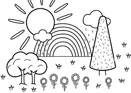 Small Picture Printable Nature Coloring Pages Coloring Me