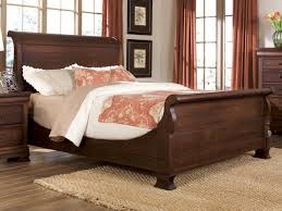 Bedroom: Fantastic Master Bedroom Design With Sleigh Bed Ideas ...