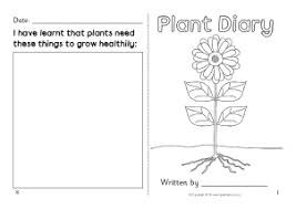 Sunflower Growing Chart Plant Growth Primary Teaching Resources And Printables