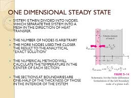 7 one dimensional steady state