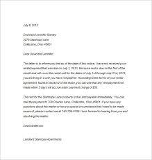 Rent Notice Letter Rent Notice Letter Magdalene Project Org