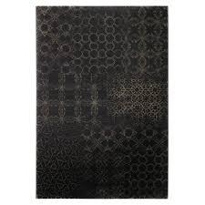 black light print rug hamptons image 1