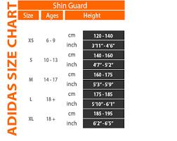 Adidas Shin Guard Size Chart Adidas Shin Guard Size Chart Best Picture Of Chart