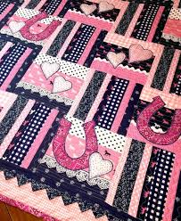 Best 25+ Cowboy quilt ideas on Pinterest | Cowboy up, Baby quilt ... & Western Baby Girl Quilt Pattern Cowboy quilt by ChristineJDesigns I think  Daynia would love this in purple instead of pink. Adamdwight.com