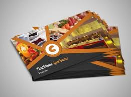 Restaurant Business Card Template Cards Free Amazing Templates