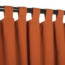 plenteous homemade orange curtains hang on black painted iron rods as cool ds for windows treatment in modern interior decors