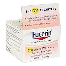 eucerin q10 anti wrinkle sensitive skin creme rated 4 2 out of 5 by makeupalley