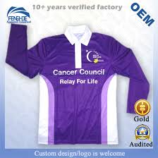 Relay For Life Shirt Designs Hot Item Wholesale Men S Sublimation Printing Promotion Team Uniform Sports Polo T Shirts