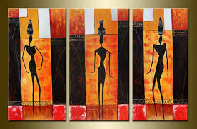 modern oil paintings on canvas abstract painting set12010