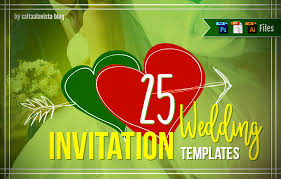 25 Plantillas Gratis Para Invitaciones De Boda