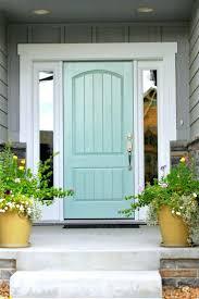 Front Doors : Front Door Painted Red Front Door In Downpipe Paint ...