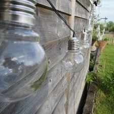 garden mile retro solar light bulb string lights