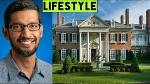 Sundar Pichai Google Ceo Income House Cars Luxurious Lifestyle Net Worth