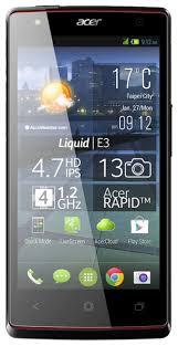 Смартфон Acer Liquid E3 — Яндекс.Маркет