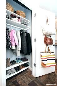 coat closet shoe storage hall closet storage best coat closet organization ideas on shoe storage hall