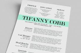 Free Creative Resume Template Word Templates Printable All Best Cv