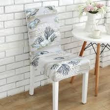 elegant box cushion dining chair slipcover