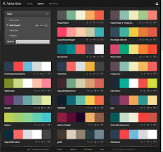 A cool tool for color schemes experimentation from Adobe