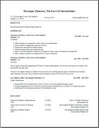 Free Resume Templates For Word Free Resume Builder And Download