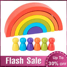 Special Offers <b>wooden color</b> sort rainbow list and get free shipping ...