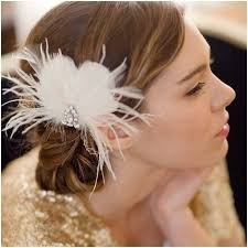 best 25 feather hair pieces ideas on pinterest fascinator Wedding Hair Pieces With Feathers bridal feather hair piece, vintage hair piece, wedding headpiece, lonny 1 month turnaround Flower and Feather Hair Pieces