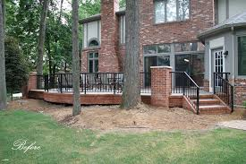masonry raised patio in west bloomfield archives pellegata landscape designpellegata design raised patio landscaping c6 patio