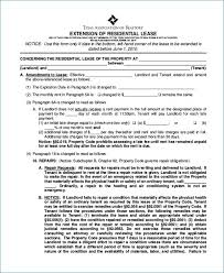 Sample Texas Residential Lease Agreement. Blank Rental Lease Form ...