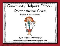 Doctor Chart Community Helper Anchor Chart Doctor