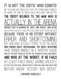 Daring Greatly Quote Custom Man In The Arena Inspirationquotes Pinterest Football Banquet