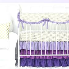 gold crib bedding sets purple and gold dot ruffle crib bedding set gold baby crib bedding