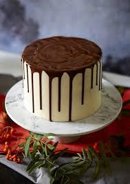 Chocolate Vanilla Drip Cake Dessert Recipes Womanhome