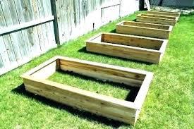 building raised beds building raised garden beds for les planter a bed le pretty build boxes