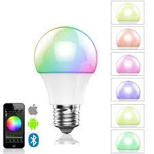 art lighting wireless. 16000 Colors Change 4.5W E27 RGBW Wireless Led Light Bulb Bluetooth 4.0 Smart Lighting Energy Art Y