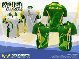 Cricket Kit Design Online Flyhisports Westerndistrictscricket Cricketclub Cricket