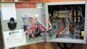 panbo the marine electronics hub waste plumbing, more important Pump Panel Wiring Diagram american_concrete_control_box_cpanbo jpg pump panel wiring diagram with hoa switch