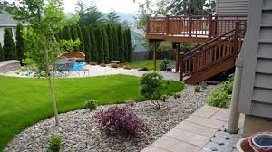 simple landscaping ideas home. Simple Small Backyard Landscaping Ideas Home
