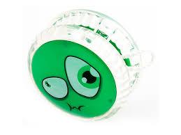 Россия <b>Волчок на</b> шнуре <b>Yo-Yo</b> Смайл <b>Эврика</b> цвет зеленый