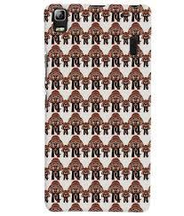 Printvisa Corporate Print Pattern Elephant Designer Back