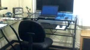 zline computer desks z line trinity compact