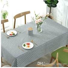plastic tablecloths for wedding gray round