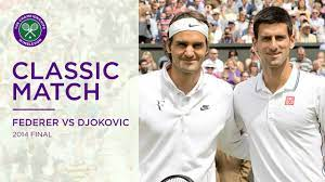 Roger Federer vs Novak Djokovic | 2014 Wimbledon Final Replayed - YouTube