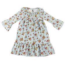 Us 3 99 Wennikids Toddler Girls Floral Print Long Sleeve Corduroy Ruffle Dress 2t 10t Autumn Winter Baby Girls Corduroy Girl Dresses In Dresses